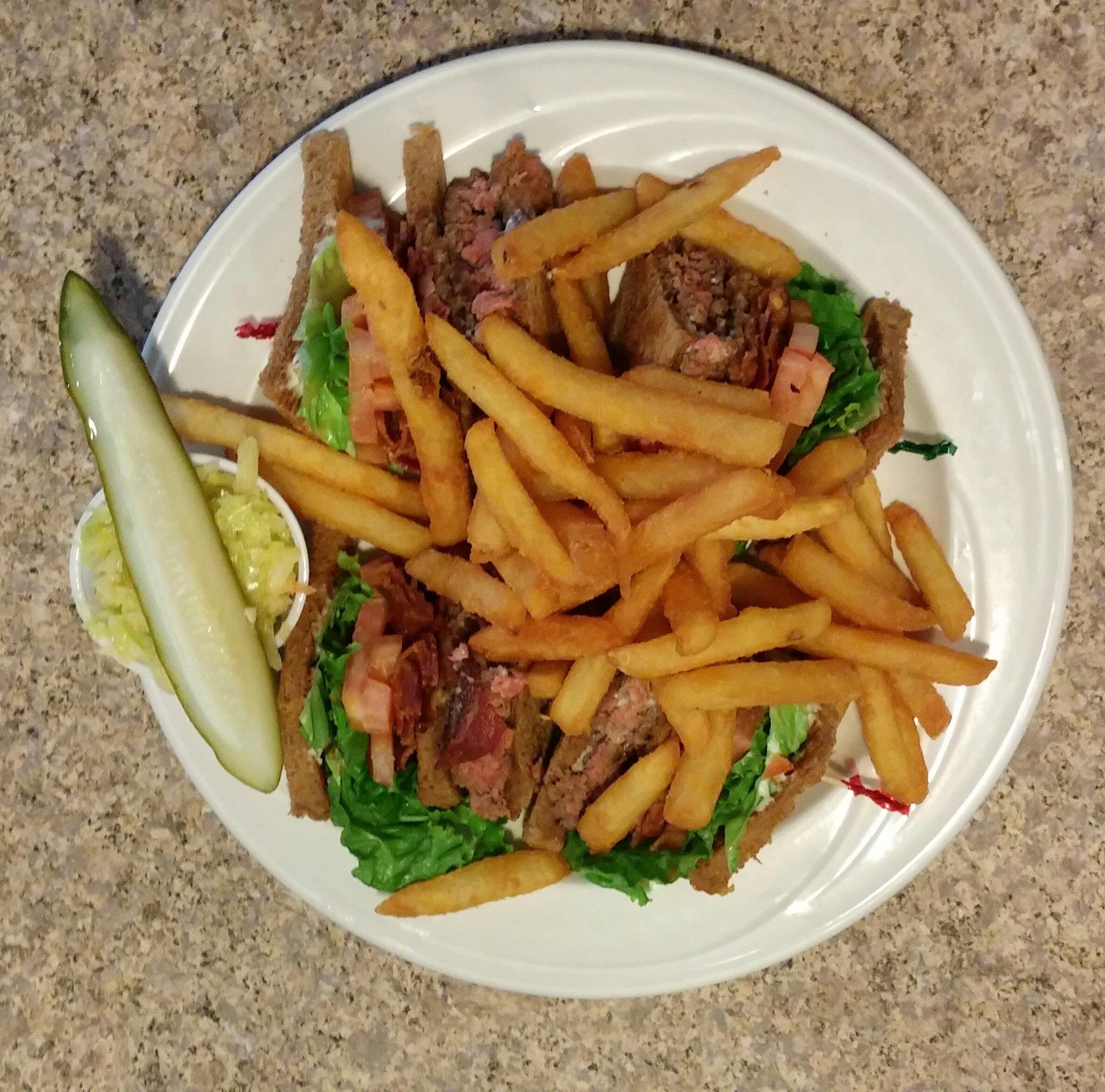 Wisdom Diner club sandwich