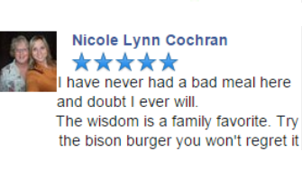Reviews - Why Wisdom Diner?
